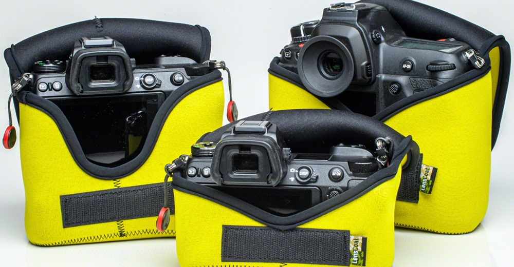 BodyBag® Pro Telephoto Yellow