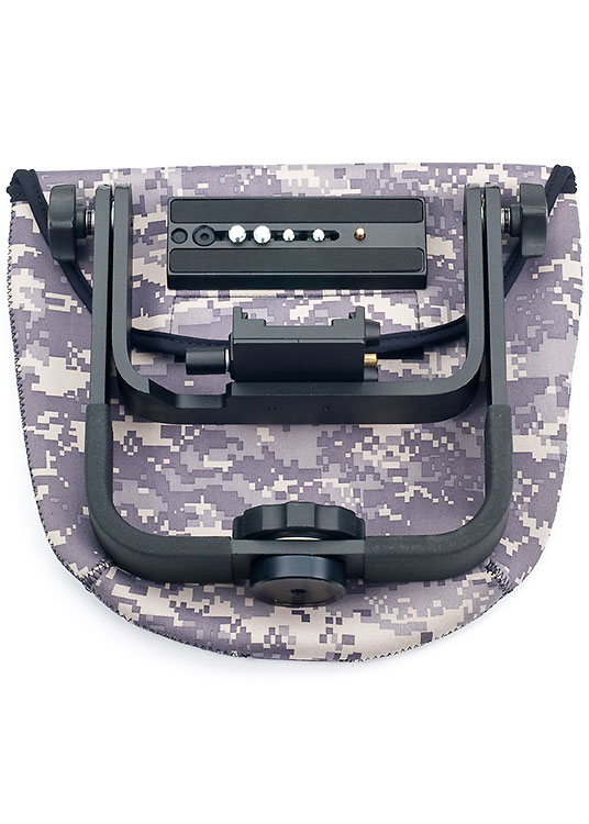 Manfrotto 393 gimbal pouch - Digital Camo