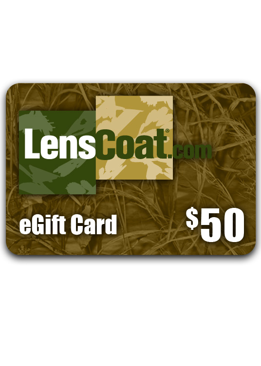 LensCoat eGift Card $50