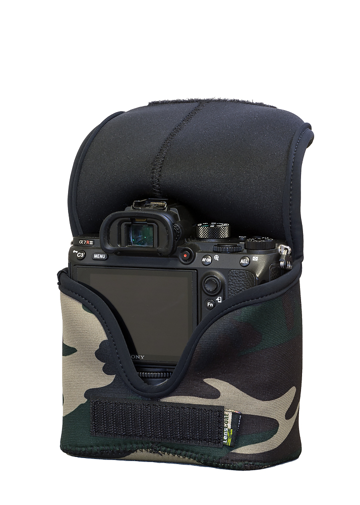 BodyBag® M with Grip Forest Green Camo