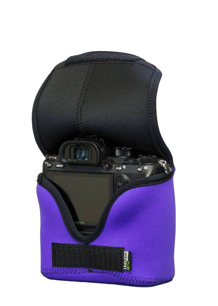 BodyBag® M with Grip Purple