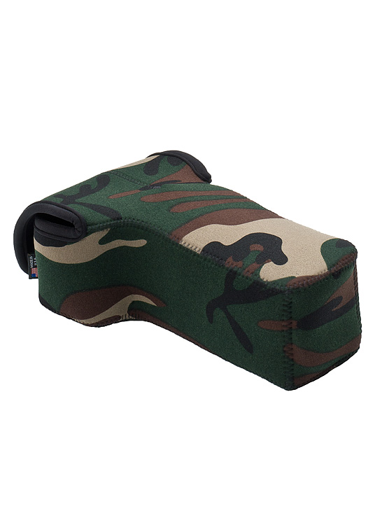 BodyBag® Telephoto Forest Green Camo