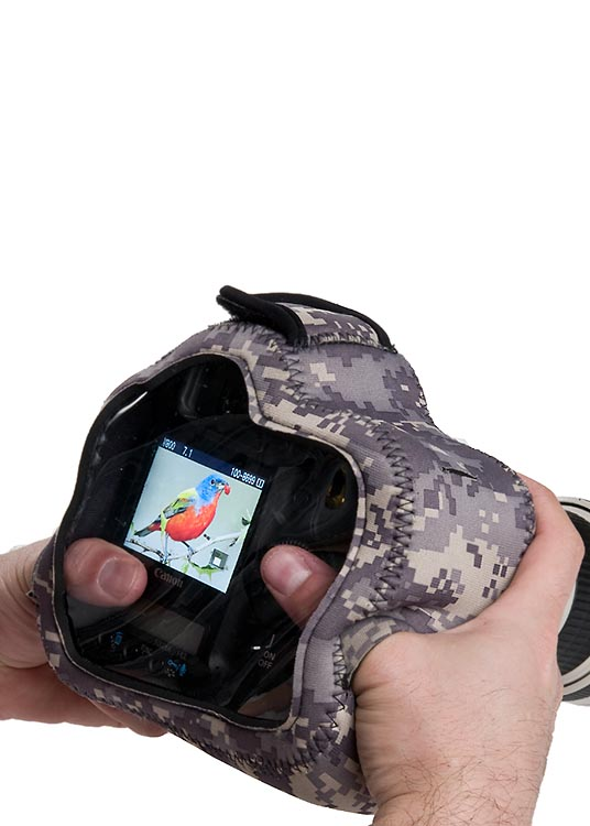 BodyGuard Pro CB (Clear Back)® Digital Camo
