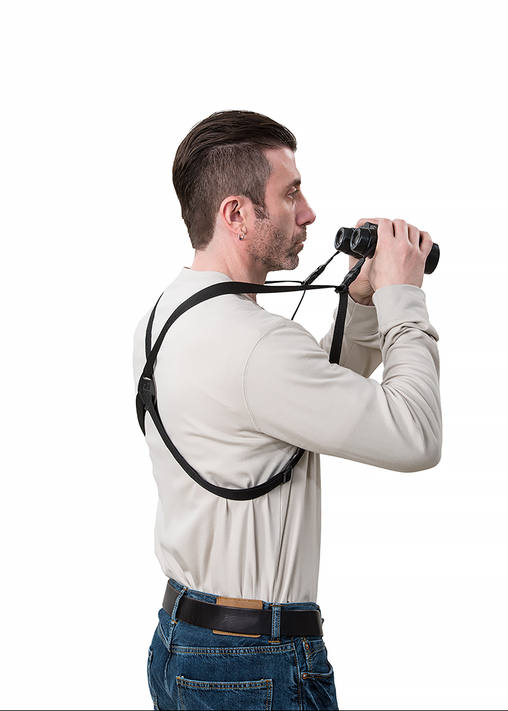 LensCoat® Camera/Binoculars harness - Elastic version