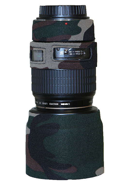 LensCoat® Canon 100 f2.8 Macro Forest Green Camo
