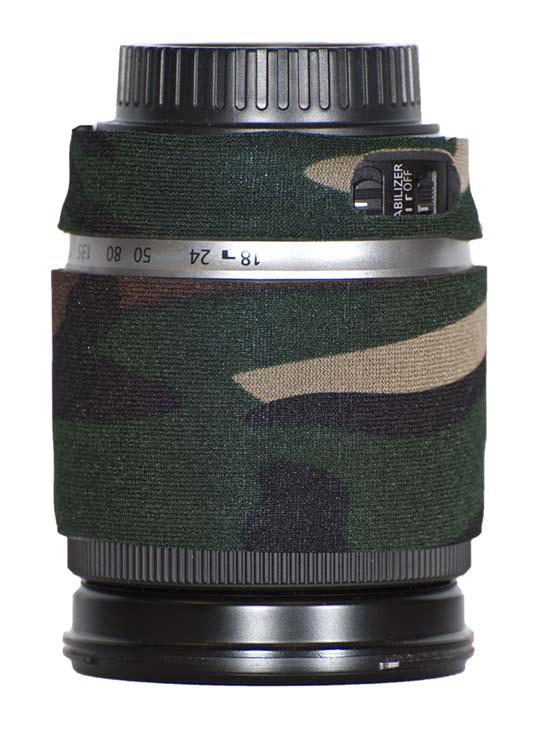 LensCoat® Canon 18-200 f/3.6-5.6 EF-S IS - Forest Green Camo