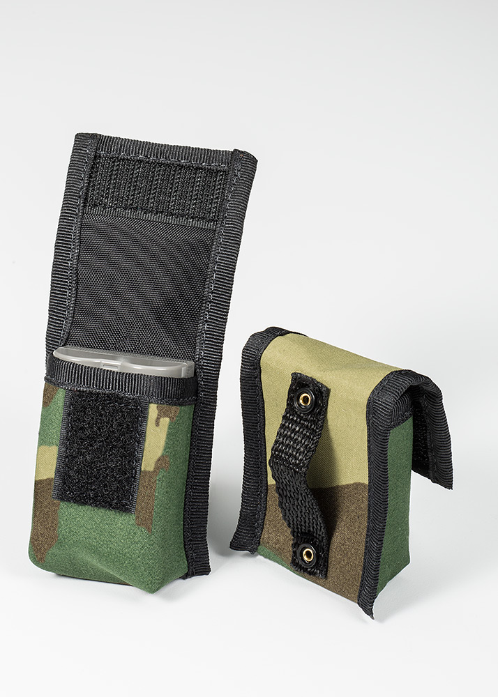 BatteryPouch DSLR 1+1 Forest Green Camo