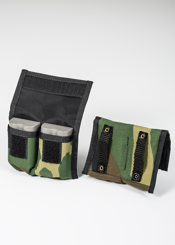 BatteryPouch DSLR 2+2 Forest Green Camo