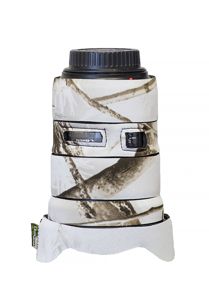 Realtree AP Snow LensCoat TC400ISSN TravelCoat Canon 400 f//2.8 IS I//II Lens Cover without Hood