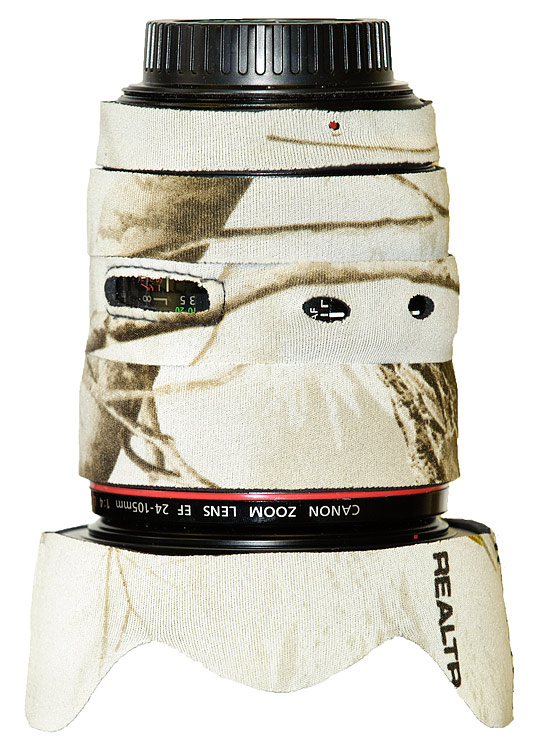 LensCoat® Canon 24-105 f4 IS - Realtree Snow
