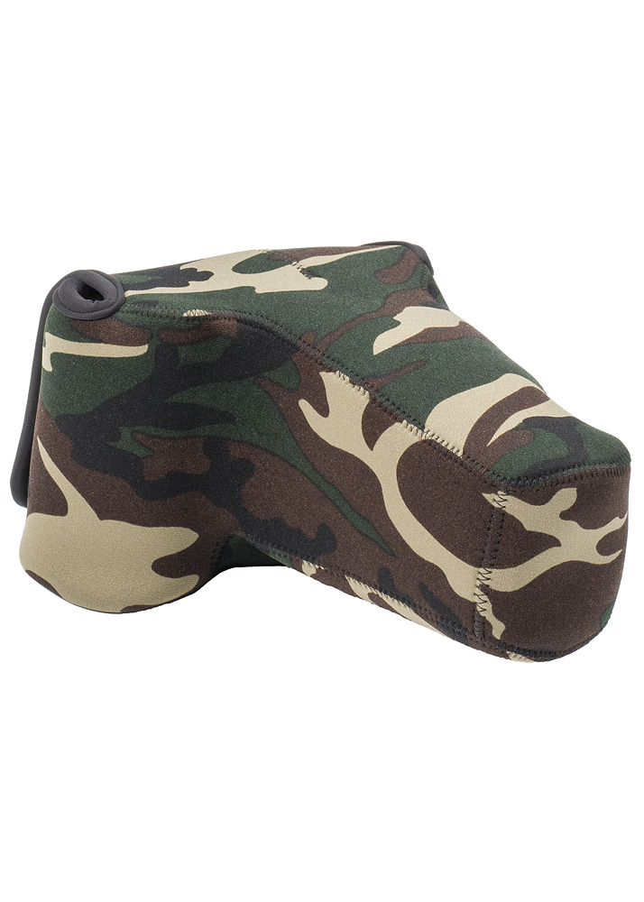 BodyBag® Pro Telephoto Forest Green Camo