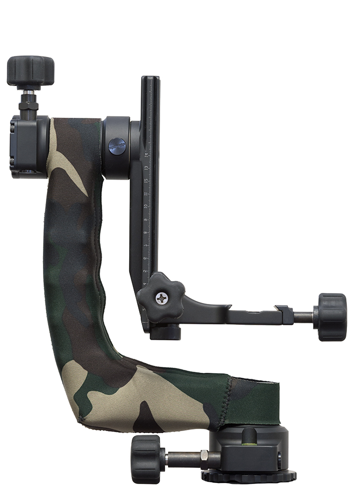 LensCoat® Katana Gimbal Head cover Forest Green Camo