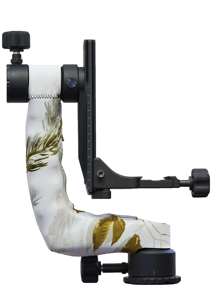 LensCoat® Katana Gimbal Head cover Realtree AP Snow