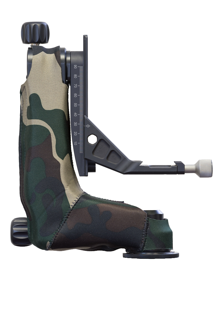 LensCoat® Katana Junior Gimbal Head cover Forest Green Camo