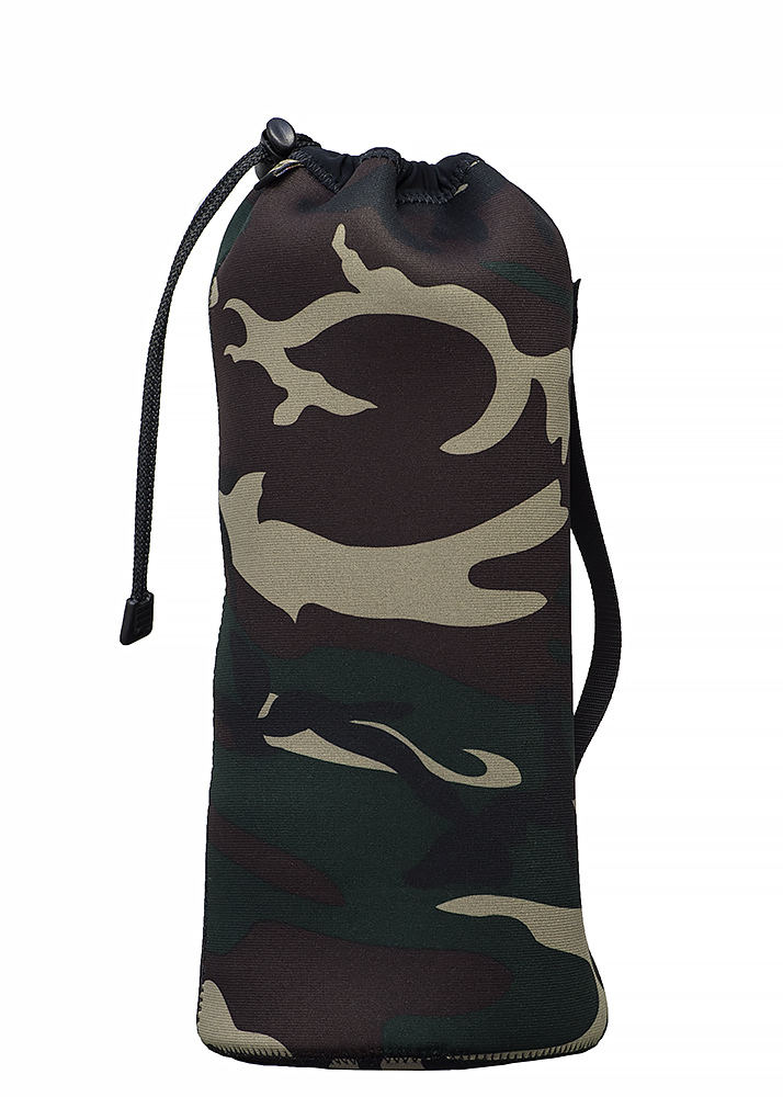 LensPouch 3XLarge Forest Green Camo