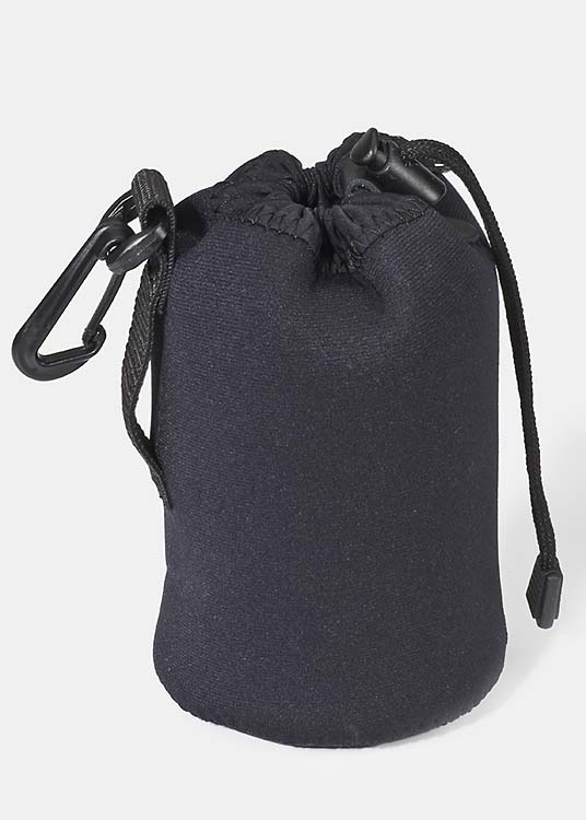 Lens Pouch Medium Wide - Black