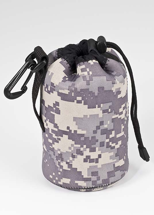 Lens Pouch Medium Wide - Digital Army Camo
