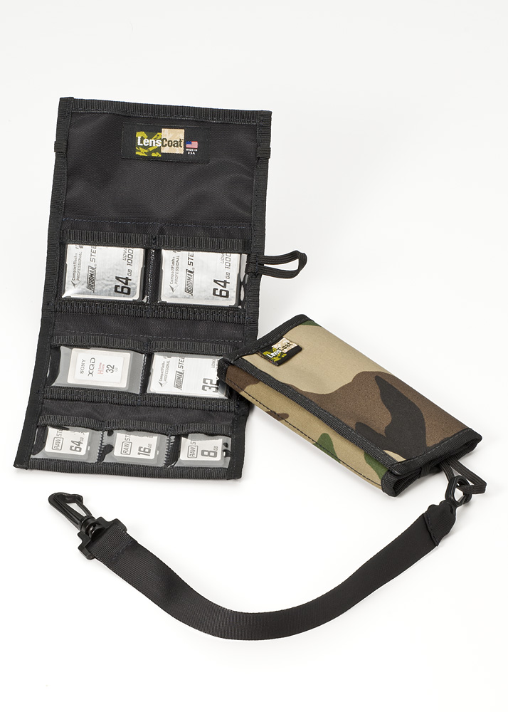 Memory Wallet Combo 43 Forest Green Camo