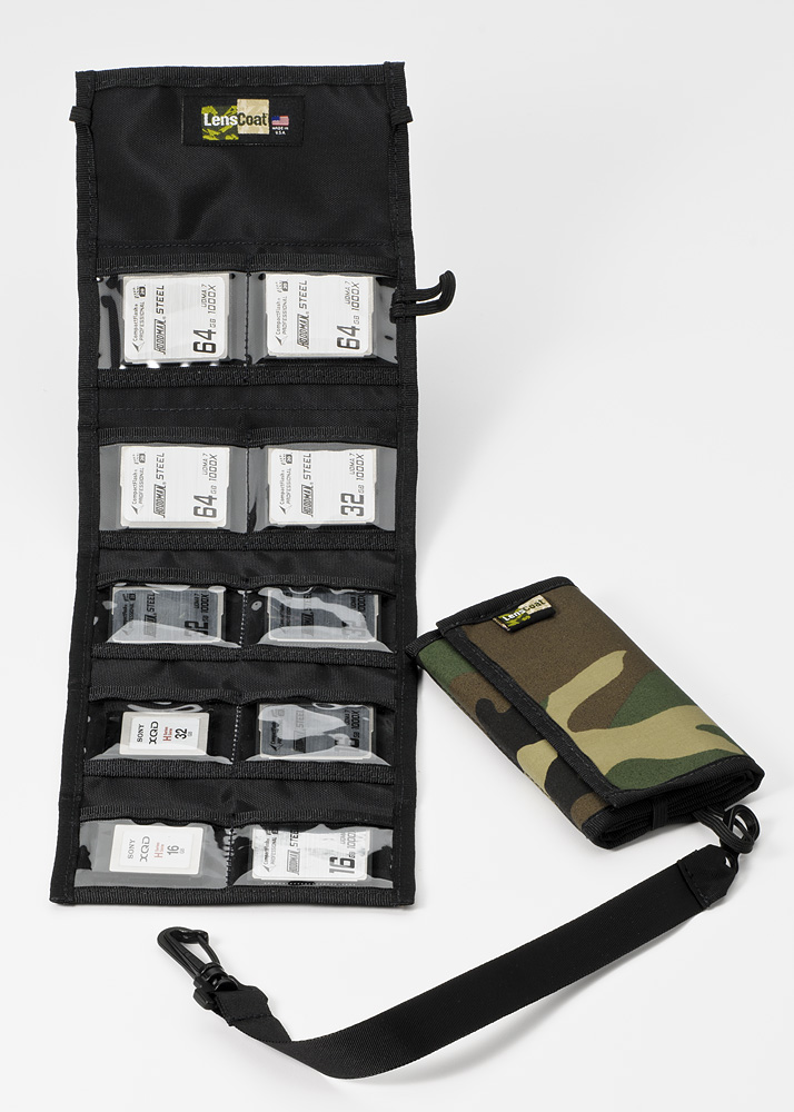 Memory Wallet CF10 Forest Green Camo
