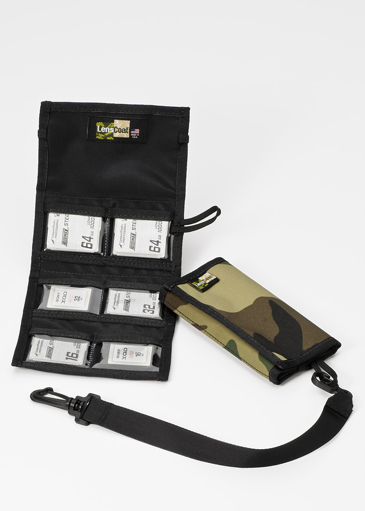 Memory Wallet CF6 Forest Green Camo