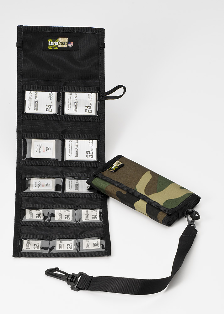Memory Wallet Combo 66 Forest Green Camo