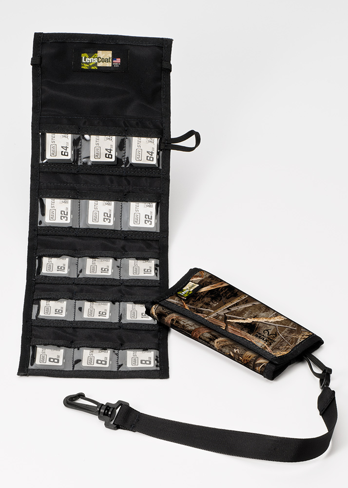 Memory Wallet SD15 Realtree Max5