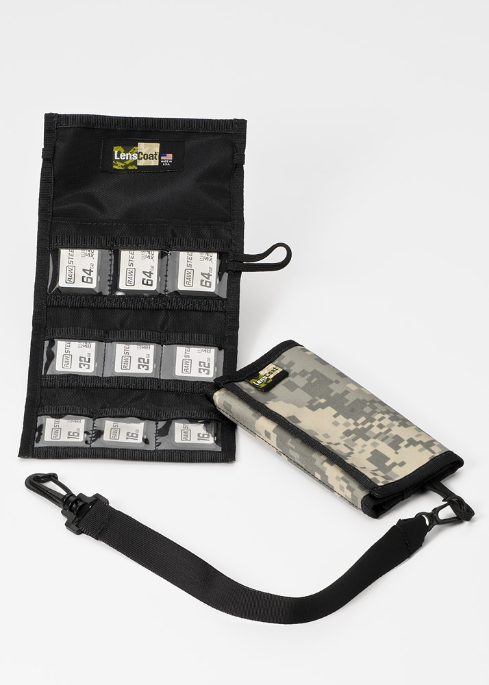 Memory Wallet SD9 Digital Camo