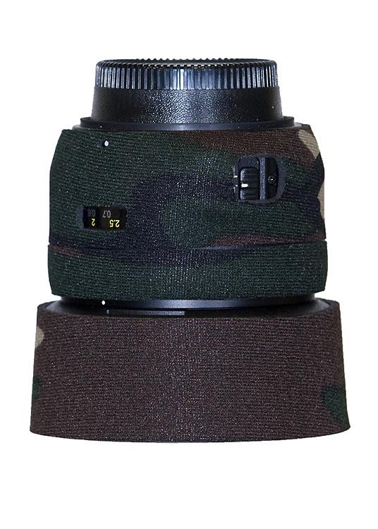 LensCoat® 50mm f/1.4G - Forest Green Camo