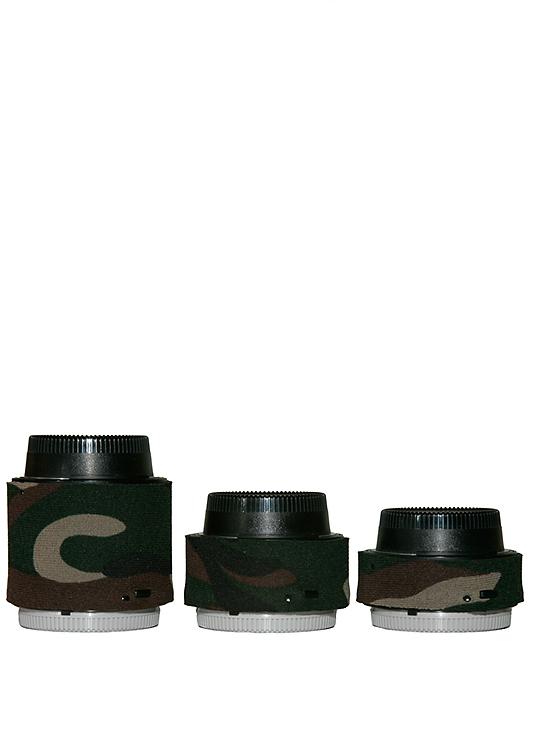 Forest Green Camo LensCoat LCNEXIIFG Nikon Teleconverter Set