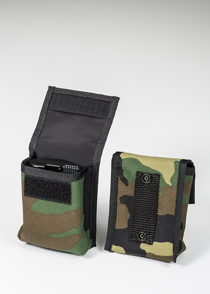 BatteryPouch Pro DSLR 1+1 Forest Green Camo