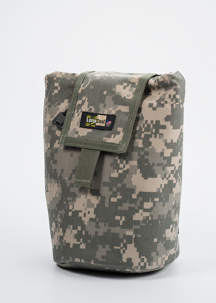 Roll up MOLLE Pouch Large Digital Camo