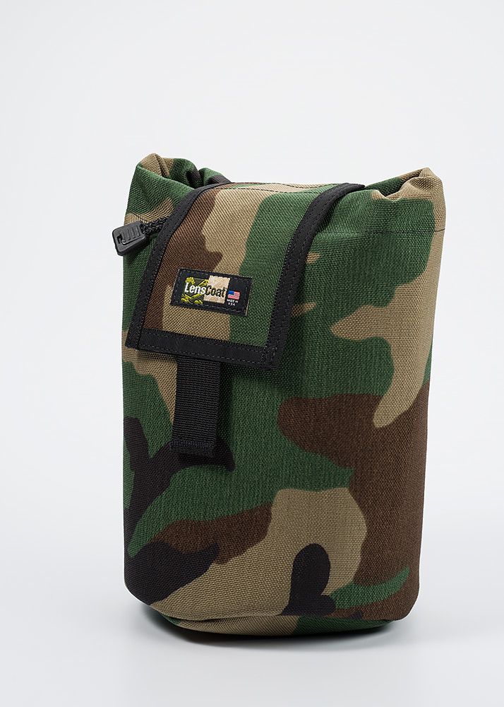 Roll up MOLLE Pouch Large Forest Green Camo
