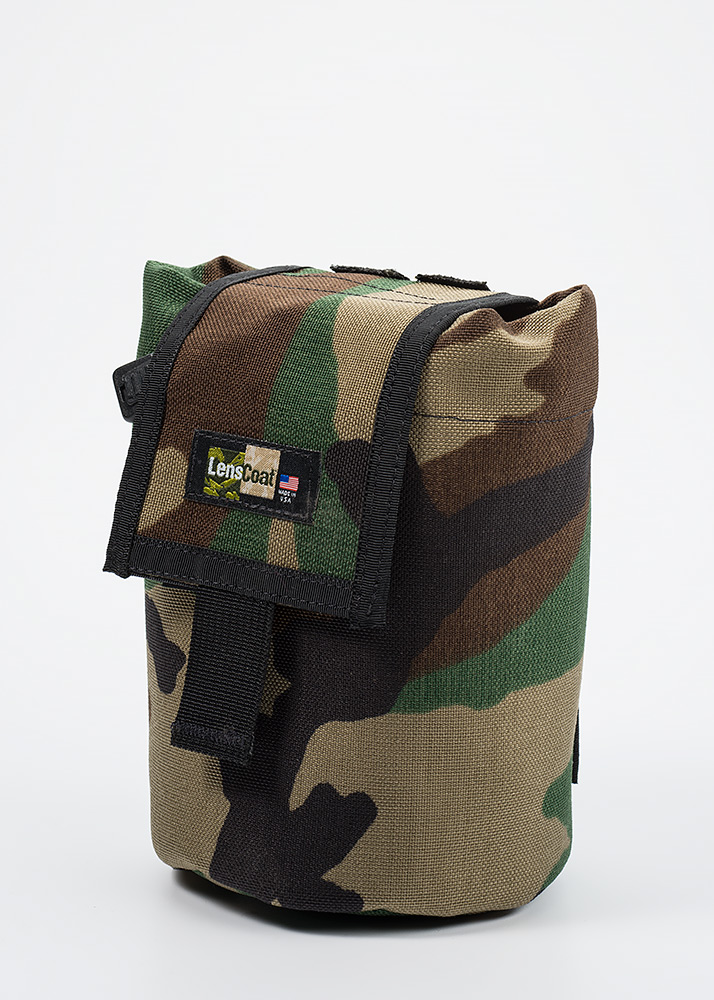 Roll up MOLLE Pouch Medium Forest Green Camo