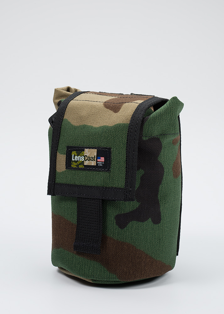 Roll up MOLLE Pouch Small Forest Green Camo