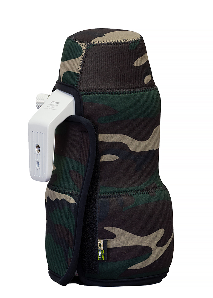 TravelCoat® Canon RF 100-500 Forest Green Camo