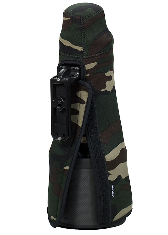 TravelCoat® Nikon 180-400 TC 1.4x FL VR Forest Green Camo