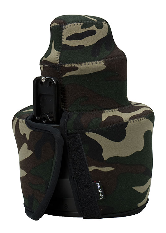 TravelCoat® Nikon 200 VR Forest Green Camo