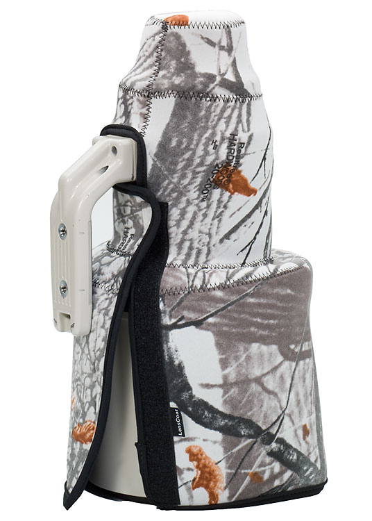 TravelCoat® Sony FE 400 f2.8 GM OSS w/hood Realtree Snow