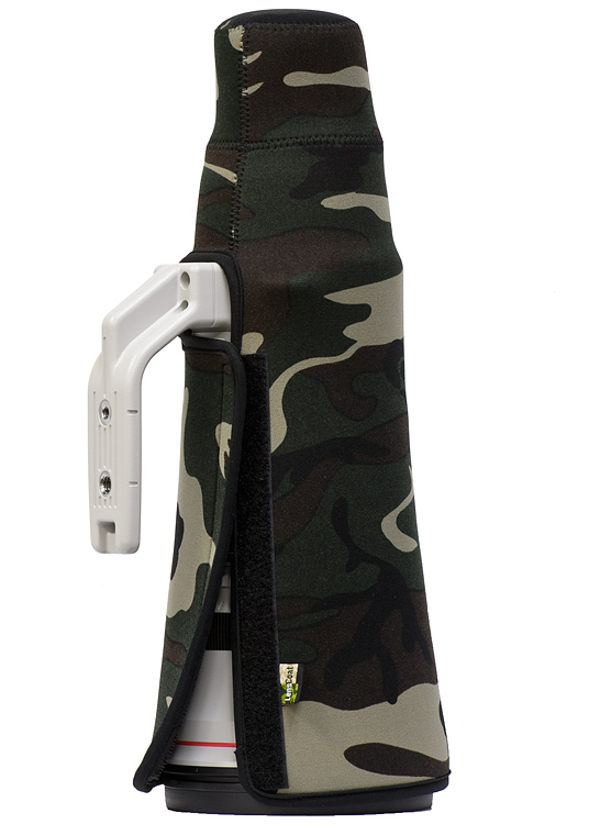 TravelCoat® Canon 500 f/4 IS II w/o hood - Forest Green Camo