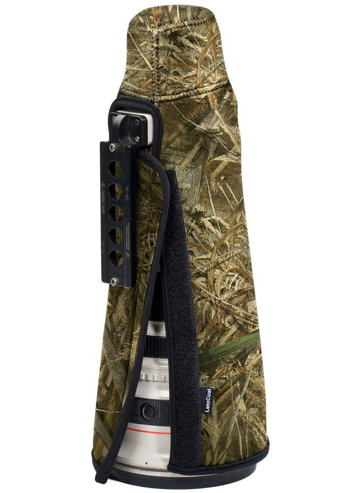 TravelCoat® Canon 500 f/4 IS w/o hood Realtree Max5