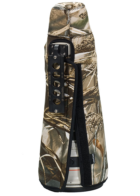 TravelCoat® Canon 500 f/4 IS w/o hood Realtree Max4