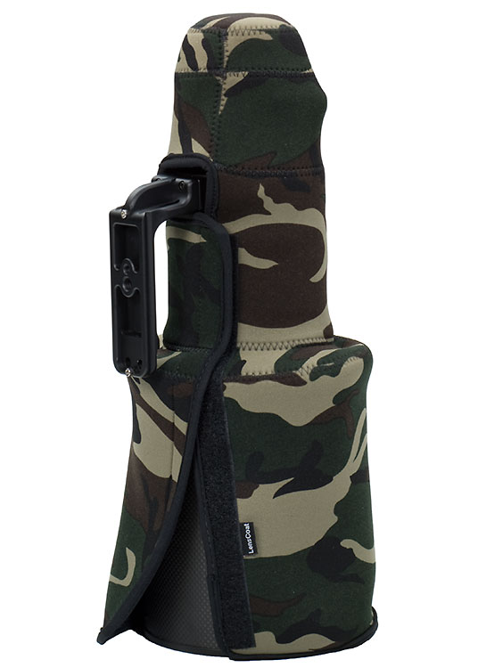TravelCoat® Nikon 500 VR w/hood Forest Green Camo
