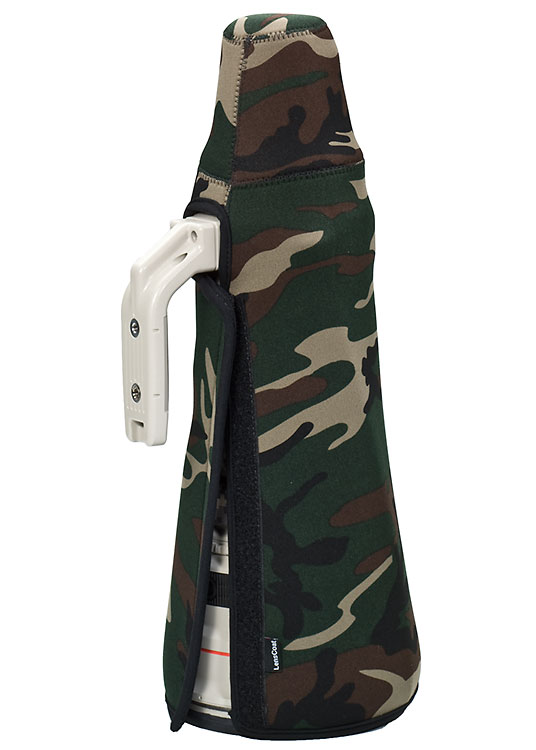TravelCoat® Canon 600 f/4 IS w/o hood Forest Green Camo