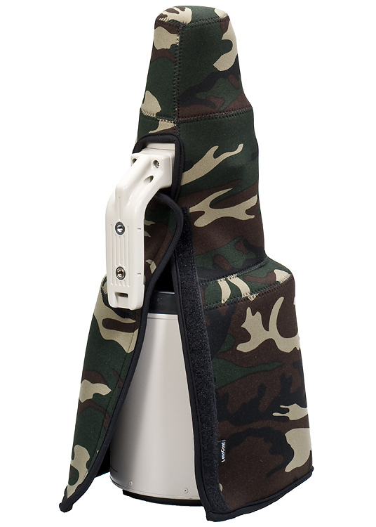 TravelCoat® Canon 600 f/4 IS w/hood Forest Green Camo