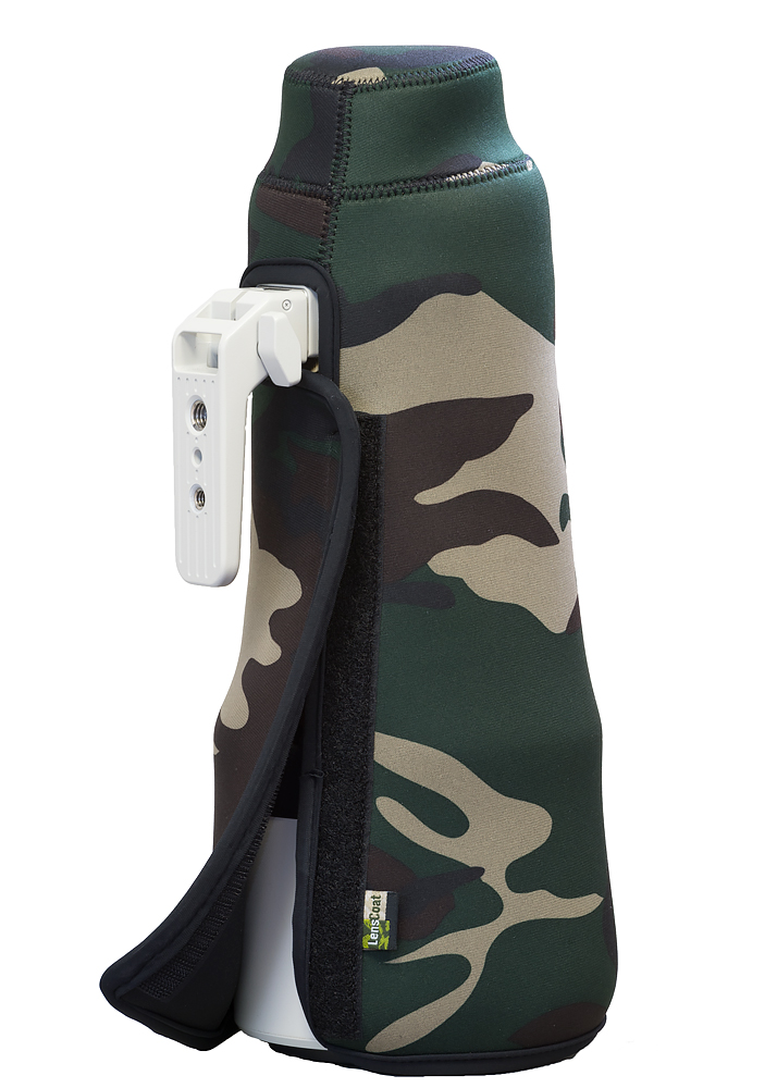 TravelCoat® Sony FE 200-600 G OSS Forest Green Camo